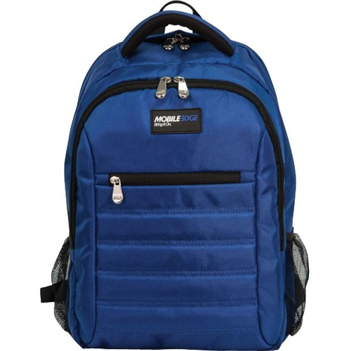 "Mobile Edge - SmartPack - 16""/17"" Mac - Royal Blue. The SmartPack is a no-nonsense backpack for people who value a case which puts protection first. Ergonomically designed and lightweight, the SmartPack offers protection for your laptop and tablet and sti"