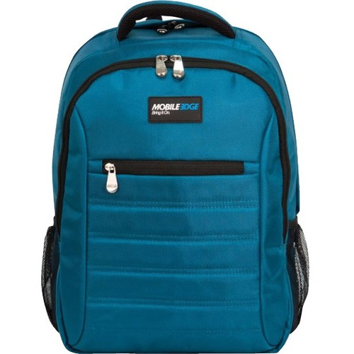 "Mobile Edge - SmartPack - 16""/17"" Mac - Teal. The SmartPack is a no-nonsense backpack for people who value a case which puts protection first. Ergonomically designed and lightweight, the SmartPack offers protection for your laptop and tablet and still pro"