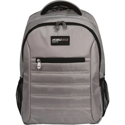 "Mobile Edge - SmartPack - 16""/17"" Mac - Silver. The SmartPack is a no-nonsense backpack for people who value a case which puts protection first. Ergonomically designed and lightweight, the SmartPack offers protection for your laptop and tablet and still p"