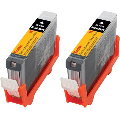 eReplacements Remanufactured Ink Cartridge - Alternative for Canon (4530B001, 4530B007, 4530B007-KD, PGI-225BK) - Black