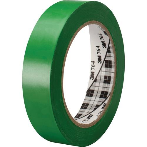 3M™ General Purpose Vinyl Tape 764 Yellow - 1 in x 36 yd 5 0 mil
