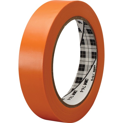 Rubber 764136red 3m General-purpose 764 Color Vinyl Tape 4 36 Yd Length