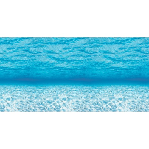 """Pacon Bulletin Board Art Paper - Bulletin Board, Display, Table Skirting, Decoration - 48"""" (1219.20 mm)Width x 12 ft (3657.60 mm)Length - Under Sea - 1 Roll - Blue"""