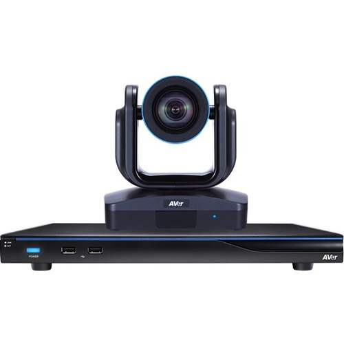 AVer Embedded 4-site HD MCU with built-in 18x PTZ Video Conferencing Endpoint