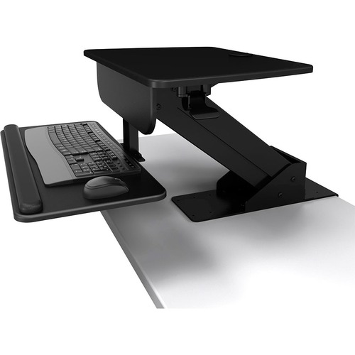 ATDEC - DT SB SIT TO STAND DESK CLAMP BLACK DESKTOP WORKSTATION HEIGHT ADJUST