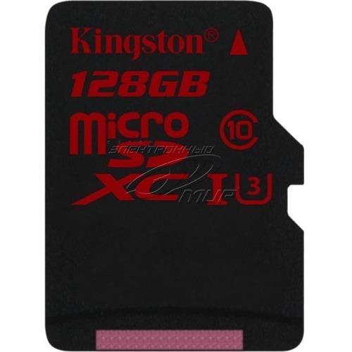Kingston 128GB Micro SDXC Memory Card U3 90MB/s