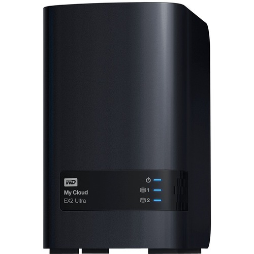 WD 0TB My Cloud EX2 Ultra 2-bay NAS, Network Attached Storage, RAID, file sync,