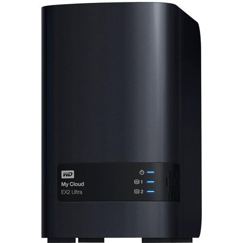 WDBVBZ0040JCH-NESN WD 4TB My Cloud EX2 Ultra Network Attached Storage | NAS | WDBVBZ0040JCH-NESN