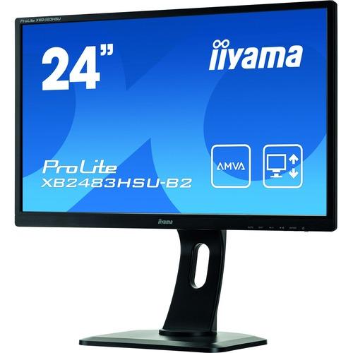 Iiyama Prolite XB2483HSU-B2 24inch Black LED AMVAplus LCD
