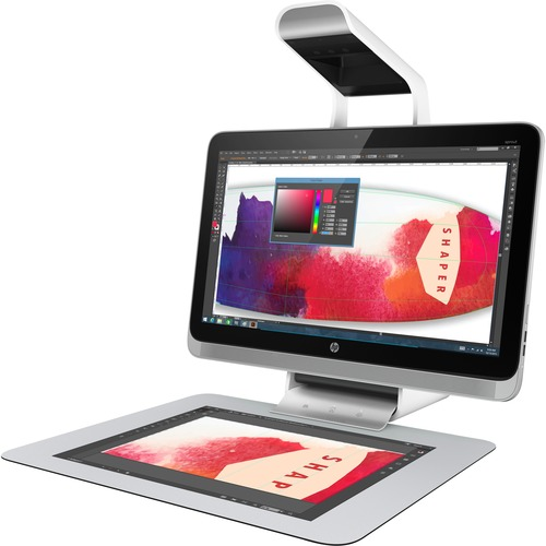 HP Sprout Pro All-in-One Computer | Intel Core i7 (6th Gen) i7-6700 3.40 GHz | Desktop | White