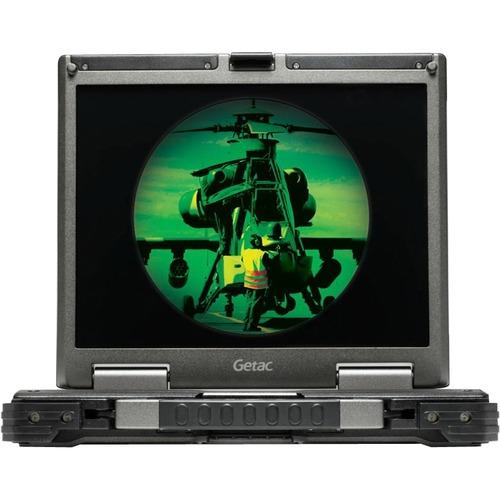 GETAC B300G5, I5-4300M, 13 INCH, DVD+SMART CARD, WIN7 PROX64+4GB, 128GB SSD, SUN