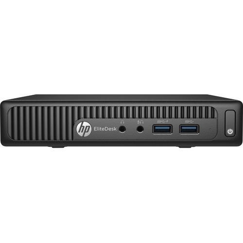 HP EliteDesk 705 G2 Desktop Computer | AMD A-Series A6-8500B 1.60 GHz | 4 GB DDR3 SDRAM | 500 GB HDD | Windows 7 Professional 64-bit upgradable to Windows 10 Pro | Mini PC