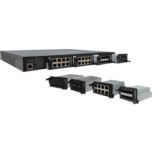 Transition Networks (4) Port Dual Speed 1000/10G SFP Module