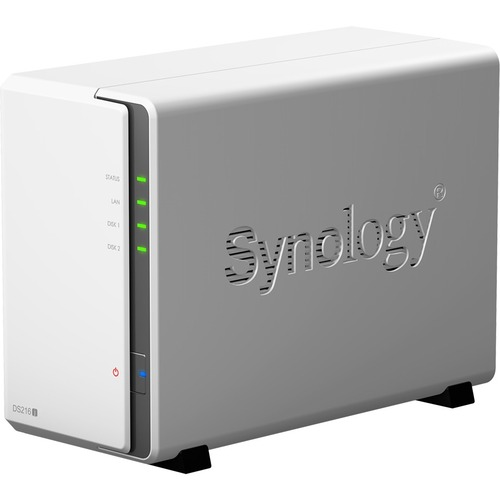 Synology NAS Server DS216j 2 way 112.75MBs Read/97.6MBS Wriging Cloud Retail