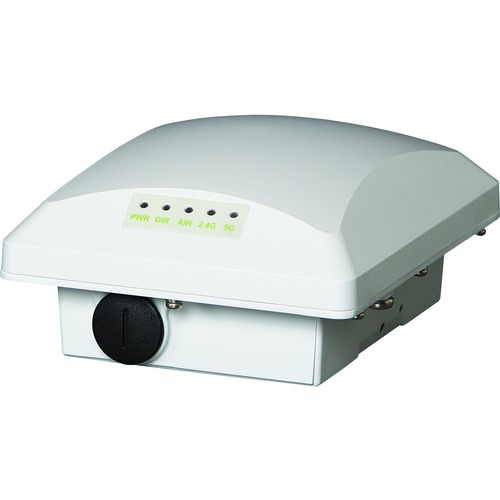 ZoneFlex T300e Unleashed, outdoor access point, 802.11ac 2x2:2 internal BeamFlex+ 2GHz & 5GHz, external 5GHz N-female, dual band concurrent, one ethernet port, PoE input, includes mounting bracket and one year warranty. Does not include PoE injector or external 5GHz antenna.