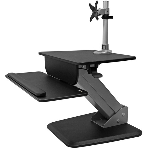 STARTECH HEIGHT ADJUSTABLE WORKSTATION WITH MONITOR MOUNT