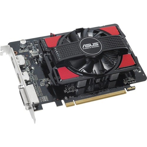 Asus R7250-1GD5-V2 Radeon R7 250 Graphic Card | 725 MHz Core | 925 MHz Boost Clock | 1 GB GDDR5 | PCI Express 3.0