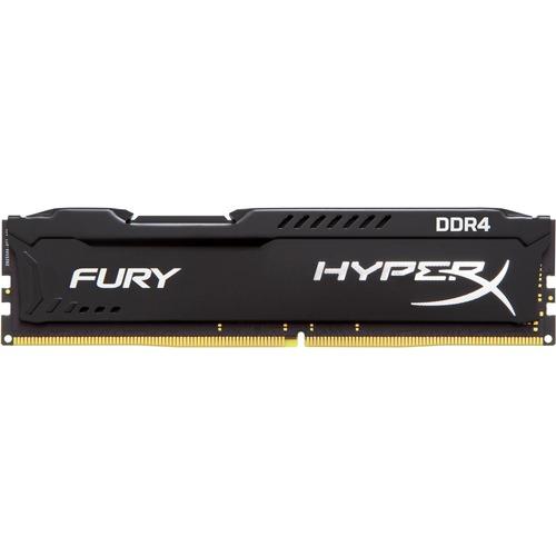 Kingston HyperX Fury RAM Module - 16 GB - DDR4 SDRAM - 2400 MHz - 1.20 V - Non-ECC