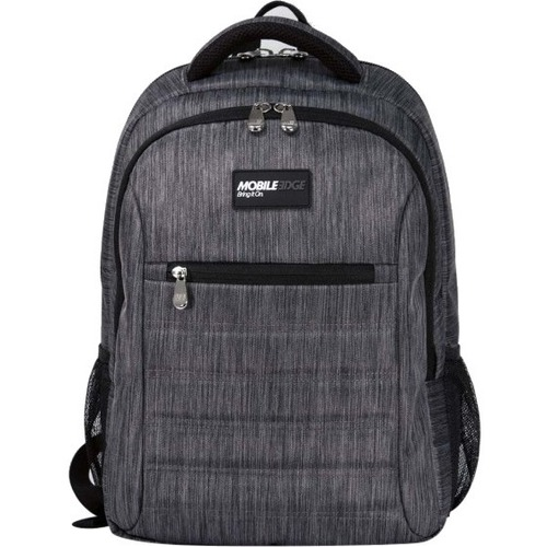 """Mobile - Edge Smart Pack - 16""""/17"""" Carbon. The SmartPack is a no-nonsense backpack for people who value a case which puts protection first. Ergonomically designed and lightweight, the SmartPack offers protection for your laptop and tablet and still provid"""