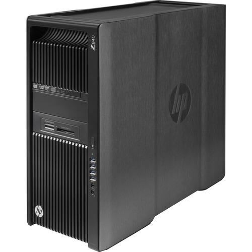 HP Z840 Convertible Mini-tower Workstation   2 x Processors Supported   1 x Intel Xeon E5-2630 v4 Deca-core (10 Core) 2.20 GHz   Black