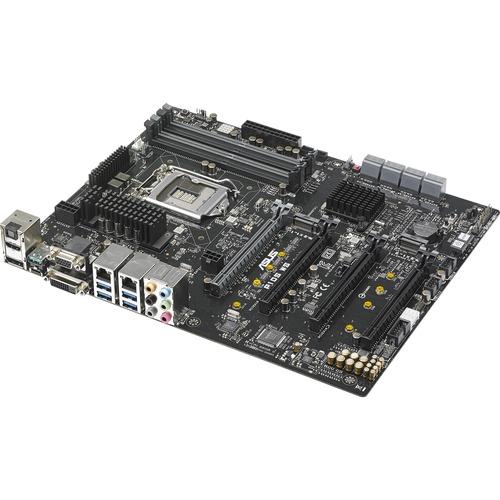 Asus Motherboard P10S-M WS Core i7/i5/i3 and Xeon E3-1200v5 LGA1151 C236 64GB DDR4 PCI Express SATA