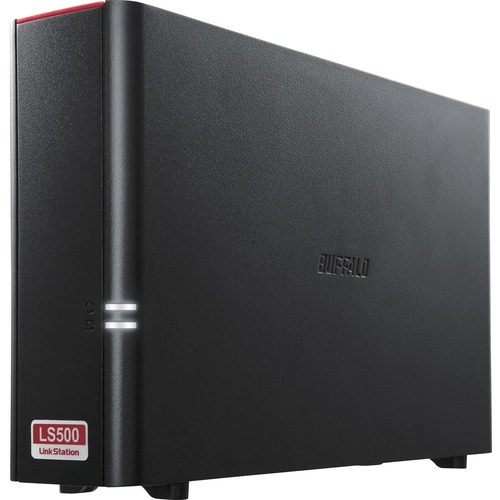 Buffalo LinkStation 2 x Total Bays NAS Storage System - Desktop - Realtek Dual-core 2 Core 1.10 GHz - 1 x HDD Installed - 2 TB Installed HDD Capacity - 256 MB RAM