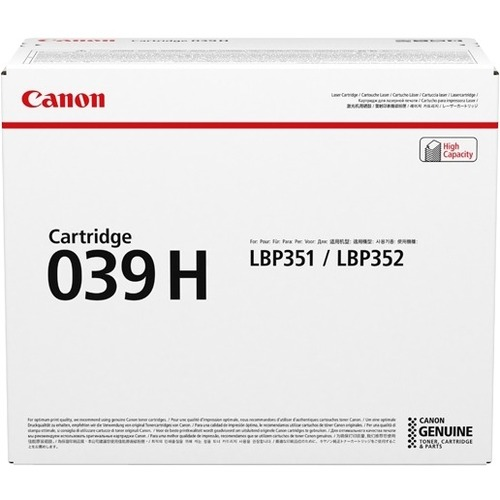 Canon 039H Toner Cartridge - Black