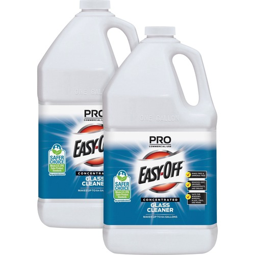 45304f500a13 Easy-Off Prof. Glass Cleaner - Concentrate Liquid - 1 gal (128 fl oz ...
