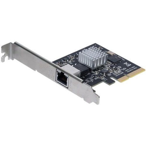 StarTech.com 1 Port PCI Express 10GBase-T / NBASE-T Ethernet Network Card | 5-Speed Network Support: 10G/5G/2.5G/1G/100Mbps | PCIe 2.0 x4