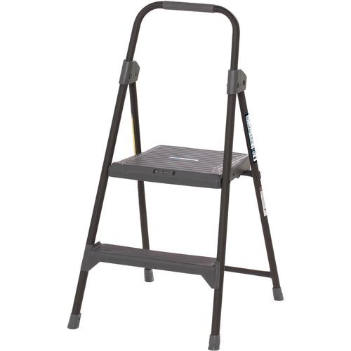 Awe Inspiring Louisville 2 Steel Domestic Step Stool 2 Step 225 Lb Load Capacity24 Gray Ibusinesslaw Wood Chair Design Ideas Ibusinesslaworg