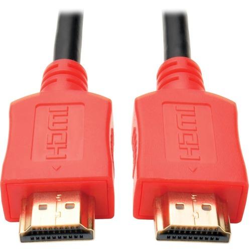 Tripp Lite 10ft High Speed HDMI Cable Digital A/V 4K x 2K UHD M/M Red 10'