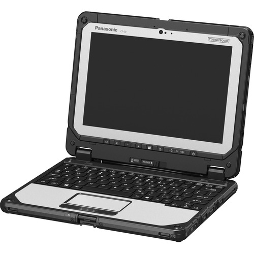 "Win10 Pro, Intel Core m5-6Y57 1.10GHz, vPro, 10.1"" WUXGA 10-pt Gloved Multi Touch+Digitizer, 8GB, 256GB SSD, Intel WiFi a/b/g/n/ac, TPM, Bluetooth, Dual Pass (Ch1:WWAN/Ch2:WWAN), 2D Bar Laser (N6603), Fingerprint, 4G LTE Multi Carrier (EM7355), Webcam, 8MP Cam, Bridge Battery, Emissive Backlit Keyboard, Toughbook Preferred"
