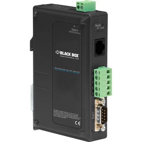 Black Box 1-Port Hardened Serial Server
