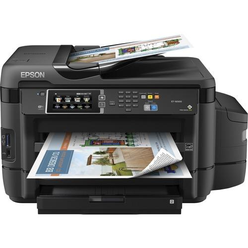 Epson WorkForce ET-16500 Inkjet Multifunction Printer | Color | Plain Paper Print | Desktop