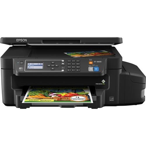 Epson Expression ET-3600 Inkjet Multifunction Printer   Color   Plain Paper Print   Desktop