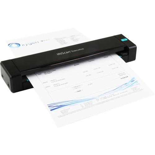 I.R.I.S. IRIScan Executive 4 Sheetfed Scanner | 600 dpi Optical