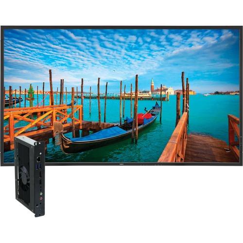 "NEC Display 55"" Digital Signage Solution w/ V552 & Single Board Computer"