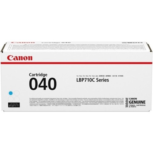 Canon CRG-040CYN Original Toner Cartridge - Cyan