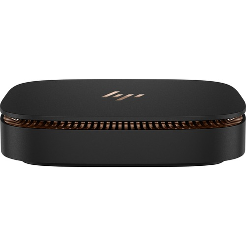 HP Elite Slice G1 Desktop Computer | Intel Core i5 (6th Gen) i5-6500T 2.50 GHz | Ultra Small | Metallic Copper, Sparkle Black