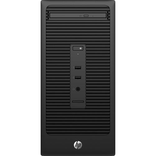 HP Business Desktop 280 G2 Desktop Computer | Intel Core i3 (6th Gen) i3-6100 3.70 GHz | 4 GB DDR4 SDRAM | 500 GB HDD | Windows 7 Professional 64-bit (English) upgradable to Windows 10 Pro | Micro Tower