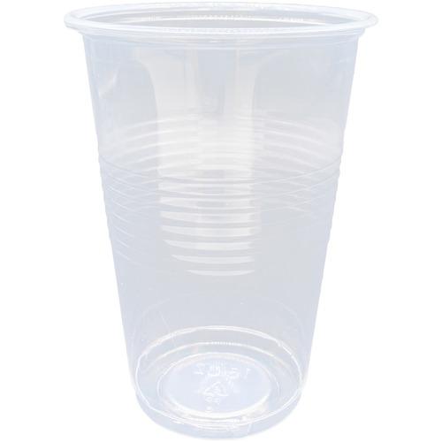 Genuine Joe Translucent Beverage Cup - 473.18 mL - 1000 / Carton - Translucent, Clear - Beverage