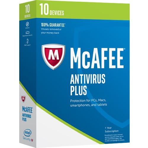 McAfee AntiVirus 2017 - 10 Device