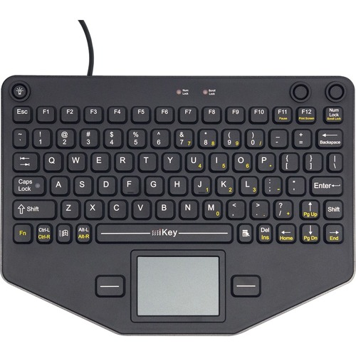 Compact Mobile Keyboard with Touchpad