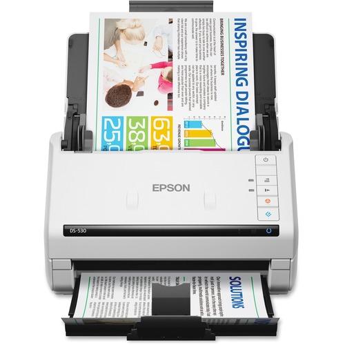 Epson WorkForce DS-530 Sheetfed Scanner | 300 dpi Optical