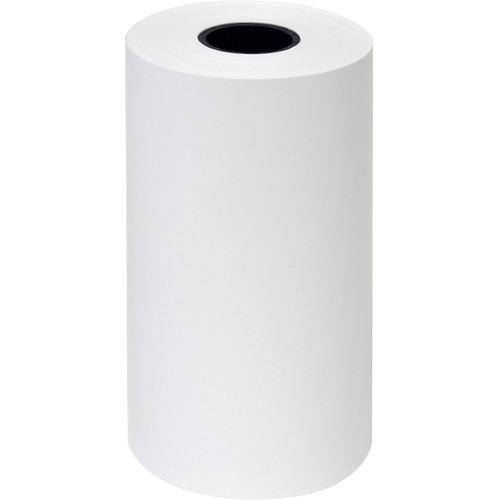 """Standard Receipt Paper, 4.375 inch x 130 ft per Roll, 2.3"""" OD, 0.5"""" ID, 36 Rolls"""
