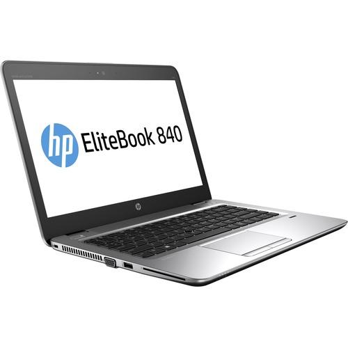 "HP EliteBook 840 G3 14"" Notebook | Intel Core i7 (6th Gen) i7-6600U Dual-core (2 Core) 2.60 GHz | 8 GB DDR4 SDRAM | 256 GB SSD | Windows 7 Professional 64-bit (English) upgradable to Windows 10 Pro | 1920 x 1080 | Sure View"