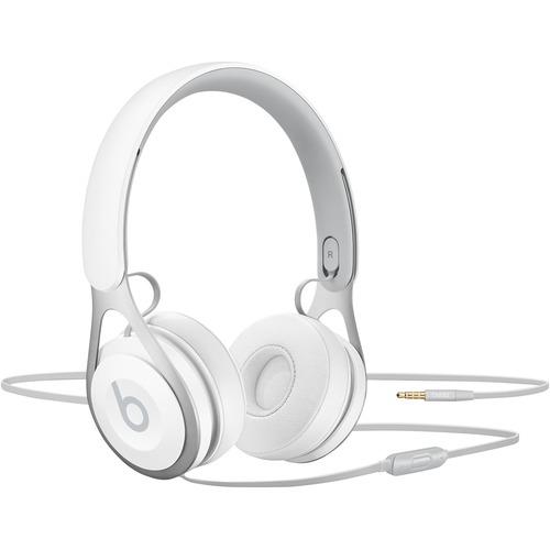 Beats by Dr. Dre EP Wired Stereo Headset - Over-the-head - Supra-aural - White