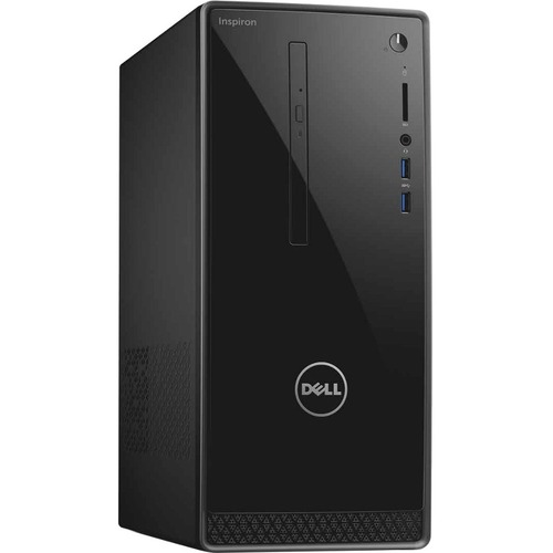 Dell Inspiron 3650 Desktop Computer | Intel Core i5 (6th Gen) i5-6400 2.70 GHz | 8 GB DDR3L SDRAM | 1 TB HDD | Windows 7 Professional 64-bit | Black, Silver