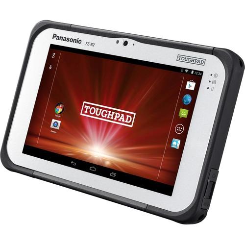 "Android 6.0.1, Intel Atom x5-Z8550 1.44GHz, No vPro, 7.0"" WXGA 10-pt Gloved Multi Touch, 2GB, 32GB, Intel WiFi a/b/g/n/ac, Bluetooth, 4G LTE AT&T (EM7355), Webcam, 8MP Cam, No Bridge Battery, USB Type-C OTG, Toughbook Preferred"