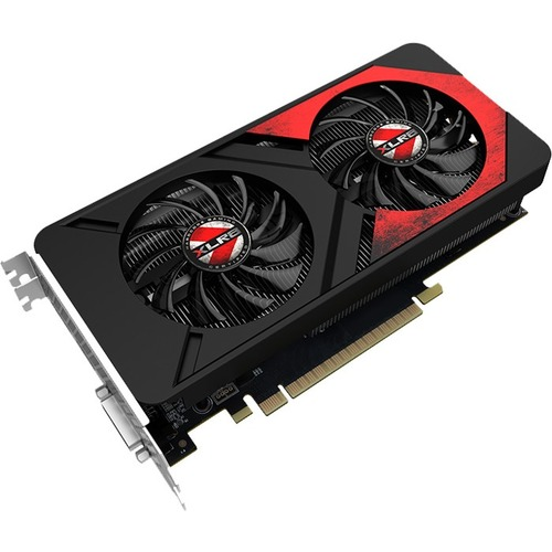 PNY GeForce GTX 1050 Ti Graphic Card | 1.37 GHz Core | 1.48 GHz Boost Clock | 4 GB GDDR5 | PCI Express 3.0 x16 | Dual Slot Space Required